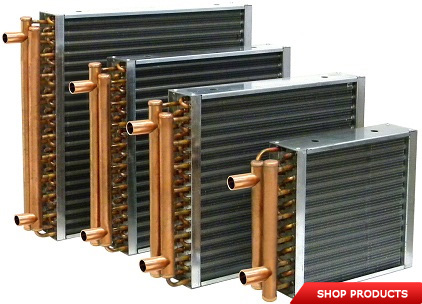 Tube Fin Air Cooled Heat Exchanger