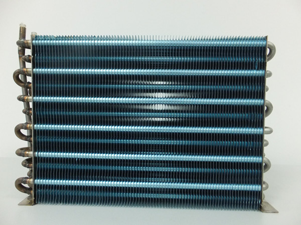 Stainless Steel Tube With Blue Fin Heat Exchanger