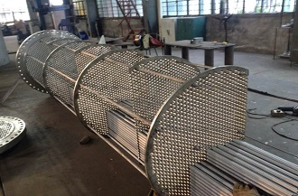 Shell and Tube Heat Exchanger for Chemical Industry