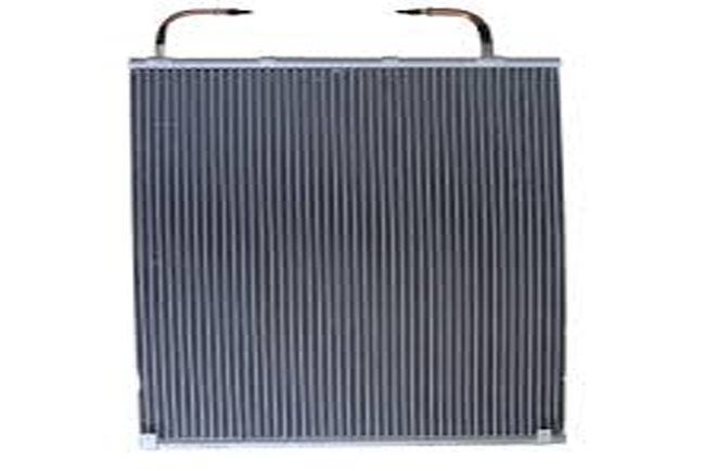 Air cooled microchannel condensers