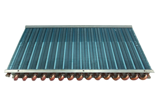 Copper Pipe Copper Fin Heat Exchanger
