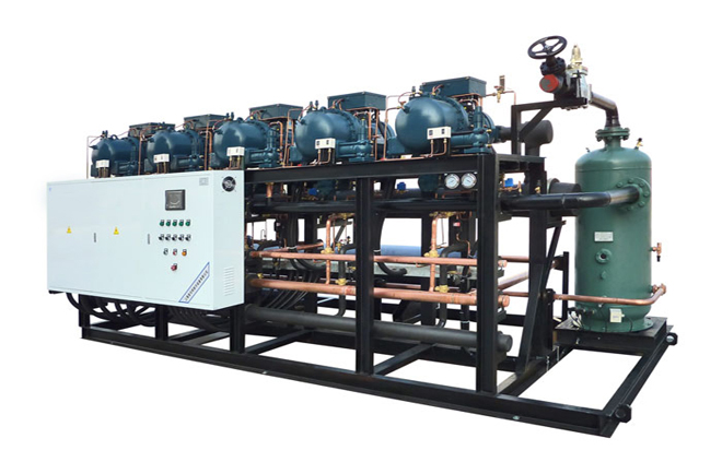 Screw 6-Parallel Compressor Refrigeration Unit