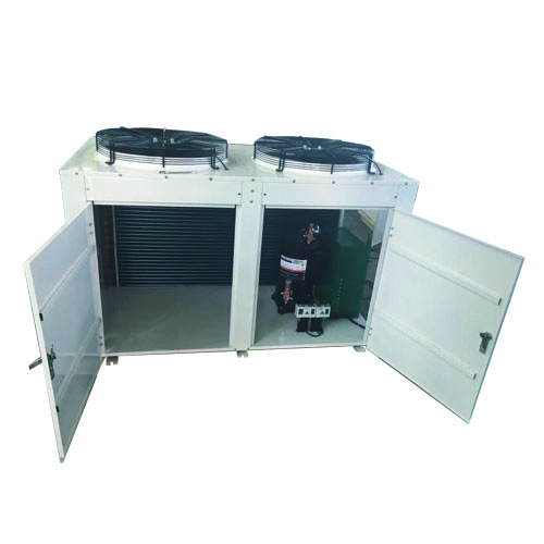 Condensing Unit with H type condenser