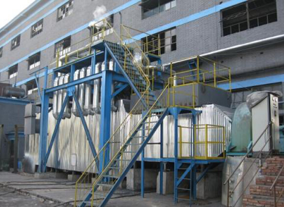 Waste heat steam generator for calcination kiln