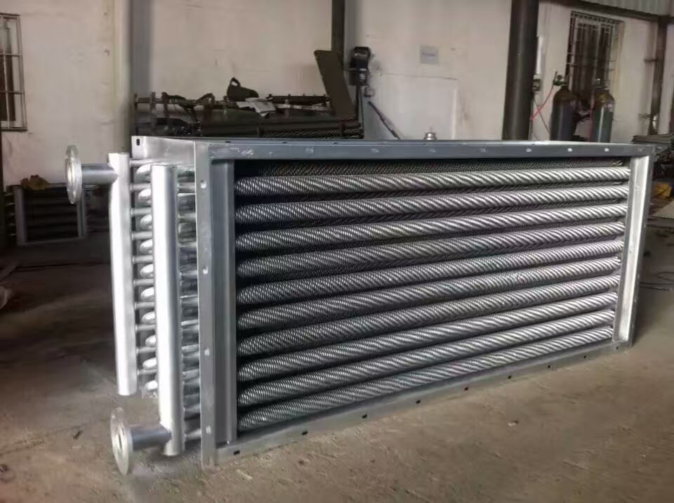 Economizer for steam and hot water boiler