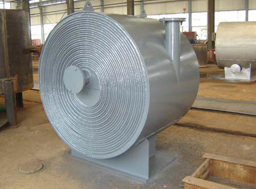 spiral type heat exchanger