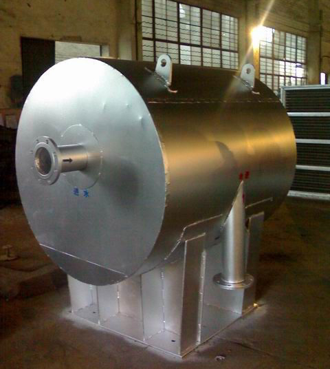 welded spiral heat exchanger