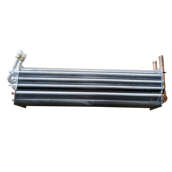 Car evaporator and heater