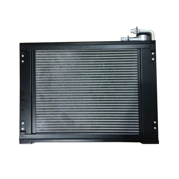 Microchannel condenser for car