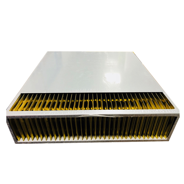 Plate type sensible heat exchanger