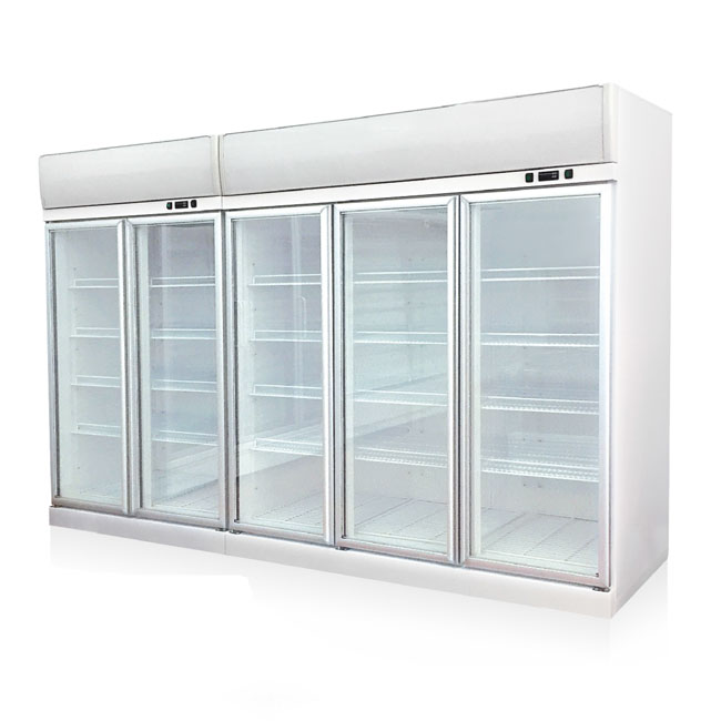 Glass Door Multi-deck Refrigerator for Convenience Store